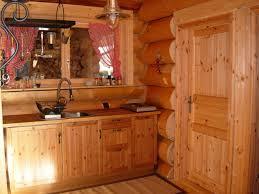 cuisine chalet bois chalets maison bois rond