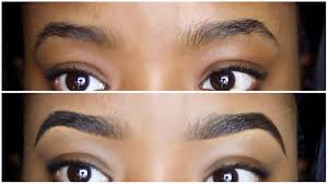 proper way to fill in eyebrows easy eyebrow tutorial how to draw fill in your eyebrows youtube