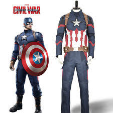 mens captain america costume ebay