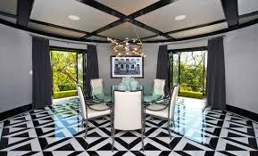 jeff lewis design circular dining room contemporary dining room jeff lewis design