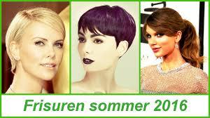 Sommer Kurzhaarfrisuren by Frisuren Sommer 2016
