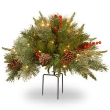 National Tree Outdoor Christmas Decorations by Buy Outdoor Christmas Urns From Bed Bath U0026 Beyond