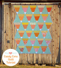 candy corn quilt tutorial mustlovequilts