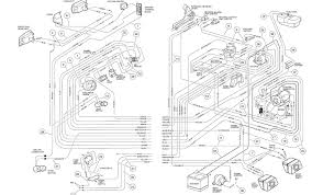 club car precedent wiring diagram and best of printable 36 volt