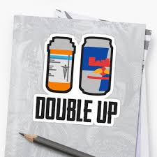 pubg energy drink pubg double up painkiller and energy drink stickers by