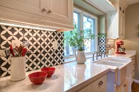 vintage kitchen backsplash unique vintage style kitchens ideas have a charm of their own