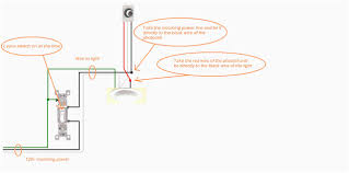 loop at the switch 2 way lighting wiring diagram youtube simple