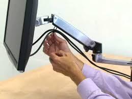Mx Desk Mount Lcd Arm How To Install The Ergotron Lx Arm Youtube