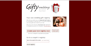 create your own wedding registry developing giftyweddings