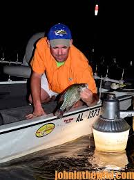 crappie lights for night fishing learn to fish the right place and use lights to catch crappie at