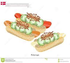 cuisine danemark polsevogn ou un aliment de polpular du danemark