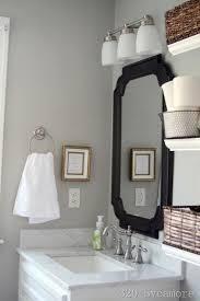 Benjamin Moore Gray Bathroom - grey walls contemporary bathroom glidden fossil grey 320