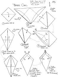 origami gabbiano origami birds