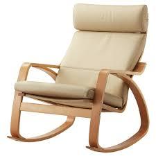 siege ikea poäng fauteuil à bascule glose brun foncé ikea