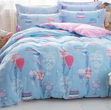 cute air balloon bedding sets teen kids full queen cotton