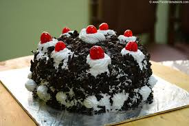 black forest cake recipe eggless baking cake recipe