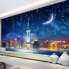 aliexpress com buy custom 3d photo wallpaper city night large aliexpress com buy custom 3d photo wallpaper city night large murals wall papers home decor living room bedroom wall covering painting wallpaper from