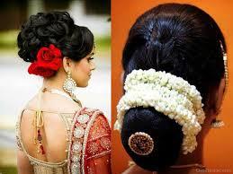 simple bridal hairstyle 27 impressive indian bun hairstyles u2013 wodip com