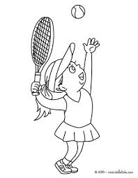 tennis coloring getcoloringpages