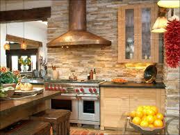 kitchen rustic stone backsplash copper kitchen backsplash wood