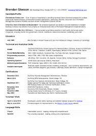 Resume Applications Brendan Gleeson Resume