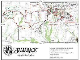 Idaho On Map Nordic Skiing Idaho