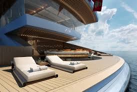 zen superyacht concept is a hybrid luxury beach house and loft