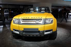 land rover yellow next land rover defender delayed to 2019 will not look like dc100