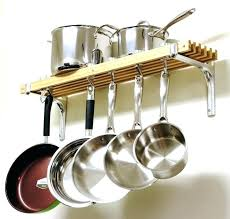 kitchen pan storage ideas pot lid storage ideas rack pan organizer oval hanging stand saucepan