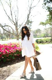 the perfect little white dress for spring my favorite mules