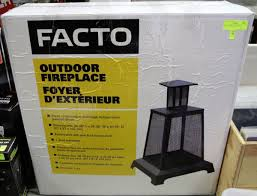 facto outdoor fireplace