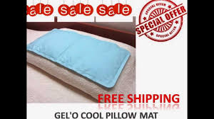cool bed pillows cool gel pillow reviews bed sheets that keep you cool at night