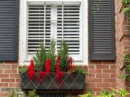 Photos Of Christmas Window Decorations by How To Make A Holiday Window Box Hgtv