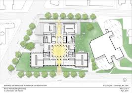 Renovation Plans by Gallery Of Harvard Art Museums Renovation And Expansion Renzo