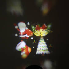 christmas window projection dvd waterproof colorful santa claus pattern led christmas moving laser