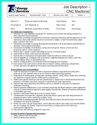 Biotech Resume Sample by Writing Your Qualifications In Cnc Machinist Resume A Must