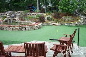 tour greens nashville backyard putting green installers