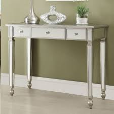 Mirrored Console Table Mirrored Console Table W 3 Drawers Sofa Tables Occasional And