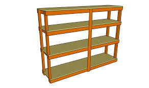 shelf designs for garage building a wooden storage shelf in the