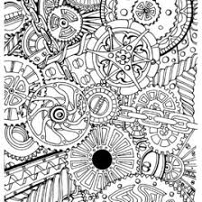 zen coloring pages adults archives mente beta complete