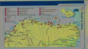 Rosemary Beach Map Road To Hana Map Hana Hawaii Vacation Maui Resorts Travaasa Hana