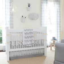 bedroom elegant brown wood eddie bauer crib with beige bedding