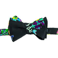 floral bowtie funky floral bowtie the house of perna