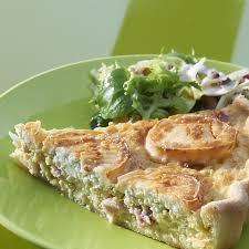 poireaux cuisine recette de tarte au chèvre et aux poireaux demarle
