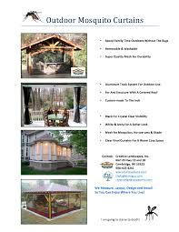 Outdoor Winter Curtains Outdoor Mosquito Curtains And Winter Curtain Options From