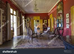 colonial interiors mauritius may 25 2017 interiors old stock photo 697049161