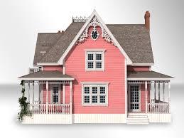 queen victorian style house model turbosquid 1156339