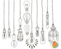 Light Bulb Clipart 447 Best Light And Lanterns Illustrations Images On Pinterest
