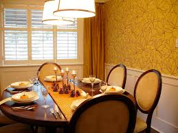 dining room pretty dining table décor with diy fall centerpiece