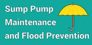 sump pump maintenance and flood prevention